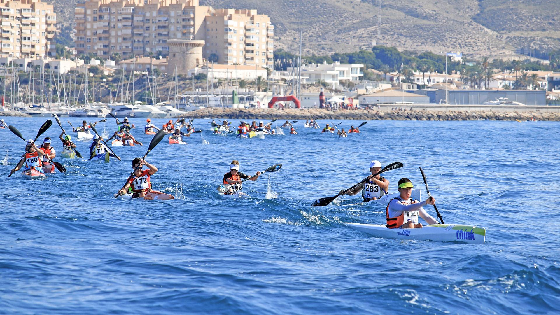 II Prueba autonómica de Kayak de Mar - Club Náutico Campello