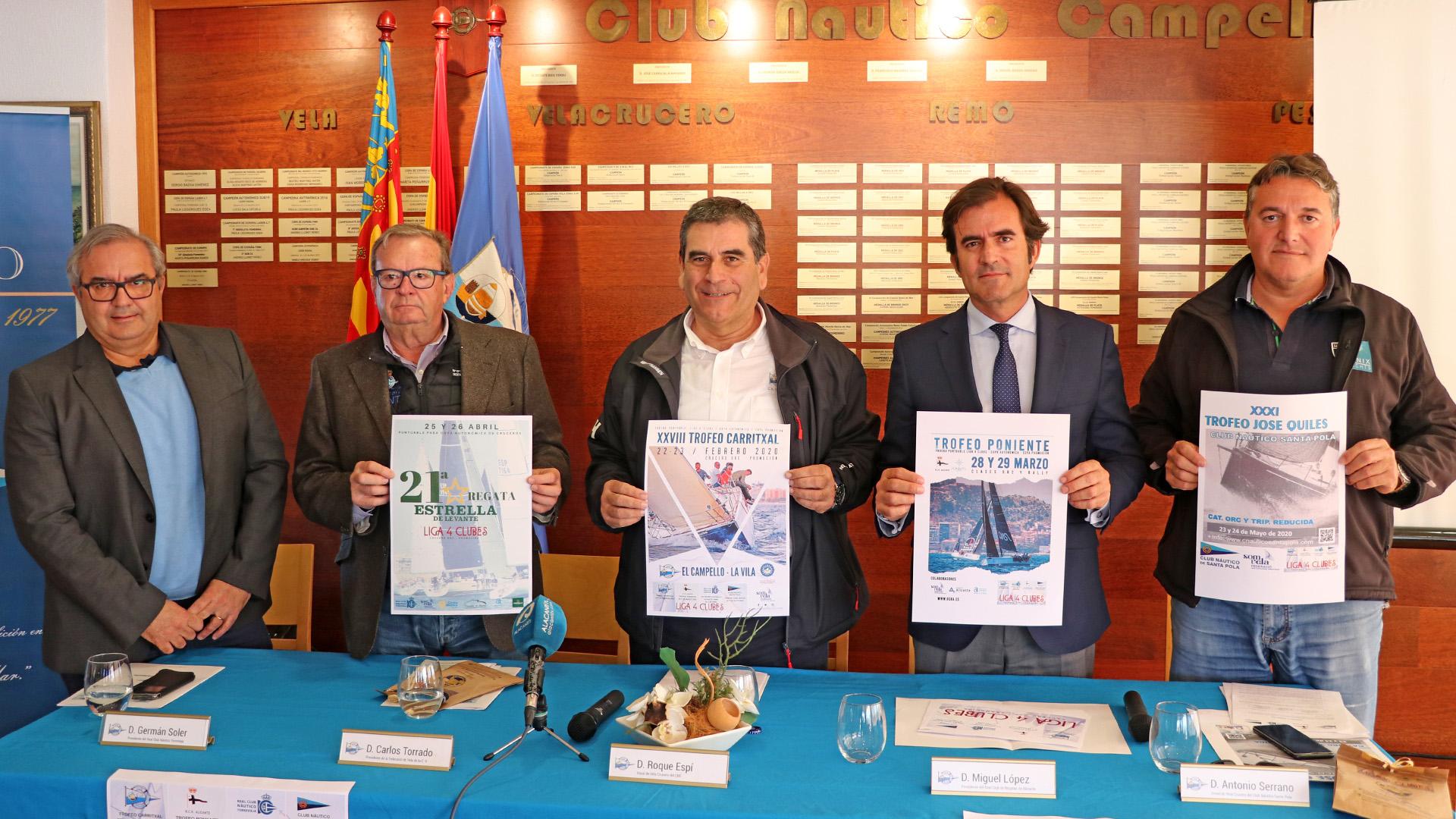 Presentación Liga 4 Clubs - Club Náutico Campello