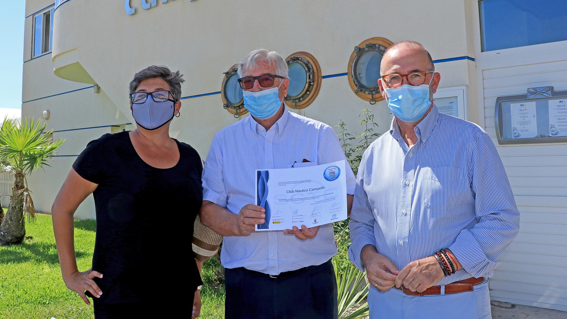 Sello SICTED - COVID19 Club Náutico Campello